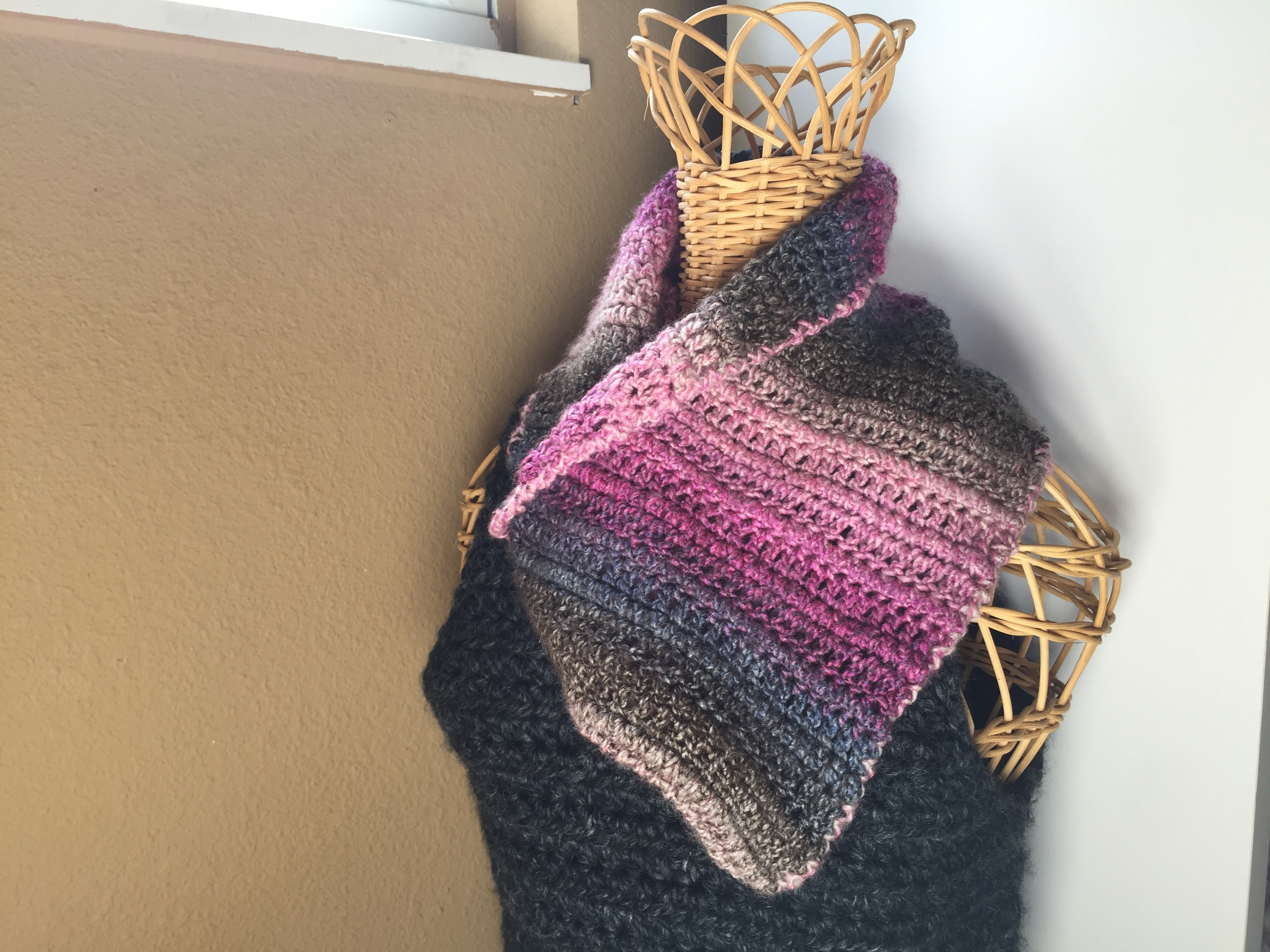 photograph regarding Free Printable Crochet Patterns known as No cost Crochet Practice: Plum Ideal Cowl Ems Fiber Arts